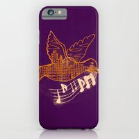 iPhone & iPod Case featuring Musical Sunset by Theo86