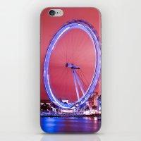 The London Eye, Pink Sky iPhone & iPod Skin