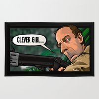 Clever Girl Rug