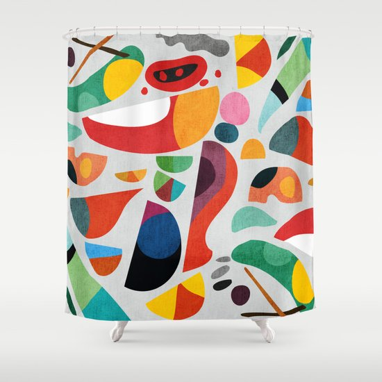 Still life from god's kitchen Shower Curtain