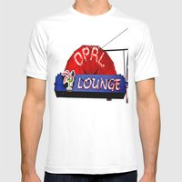 Opal Lounge Mens Fitted Tee White SMALL