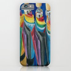 Colorful Umbrellas Slim Case iPhone 6s