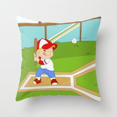Non Olympic Sports: Baseball Throw Pillow