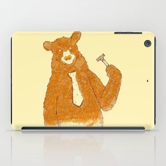 Office Bear iPad Case
