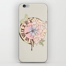 Il y a Beauté dans le Temps (There is Beauty in Time) iPhone & iPod Skin