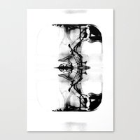 Black Reflections Canvas Print