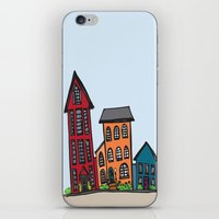 TownHouses iPhone & iPod Skin