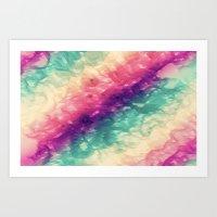sea colors Art Print