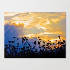 Golden Sky Canvas Print