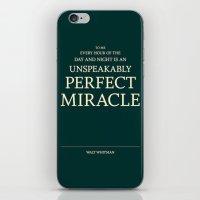 Walt Whitman iPhone & iPod Skin