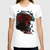 The Knight in the Shining Armour...  Womens Fitted Tee White SMALL