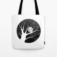 Moonlight Shadow Tote Bag
