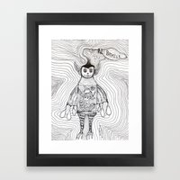 Batmilk Framed Art Print