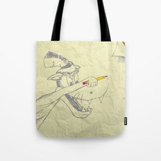 I am the Bad Wolf and I create myself!! Tote Bag