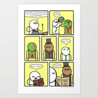 Antics #306 - brewhaha Art Print