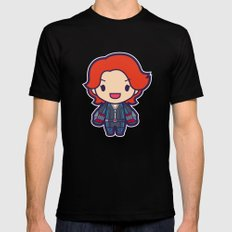 Spy SMALL Black Mens Fitted Tee