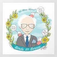 Put A Bernie On It Art Print