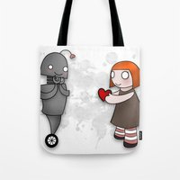 Robot Love Tote Bag