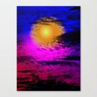 Sol Night Canvas Print