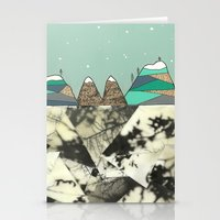 Winter Slopes Stationery Cards
