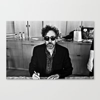 Tim Burton Canvas Print