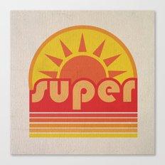 Super Duper Canvas Print