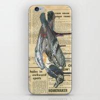 Pigeamortis iPhone & iPod Skin