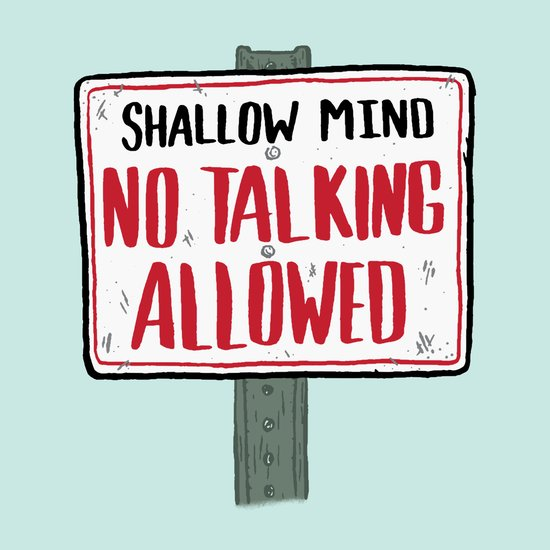 No Talking Art Print