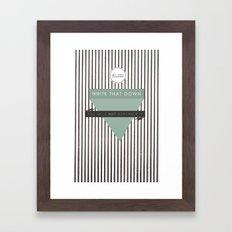 Write that Down Framed Art Print