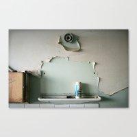 Lost Mirror Canvas Print