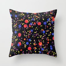 little flowers Throw Pillow