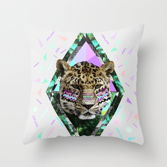 ▲SAFARI WAVES▲ Throw Pillow