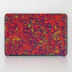 Ipad skins, Iphone, Computer, Canvas, Print, Red, Abstract, Funky iPad Case