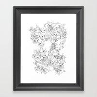 Pasolini`s Garden Framed Art Print