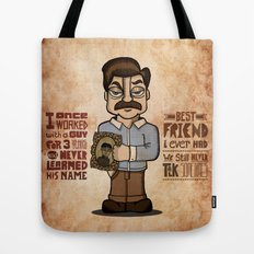 Ron Swanson 3 Tote Bag