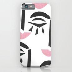Modern Art Face Slim Case iPhone 6s