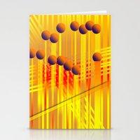 sıcak renkler Stationery Cards