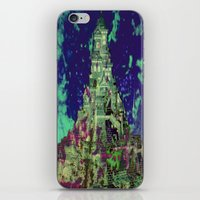 The Castle of Ghosts iPhone & iPod Skin