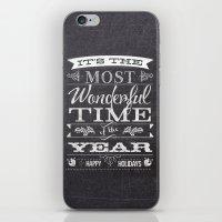 Holiday Greetings iPhone & iPod Skin