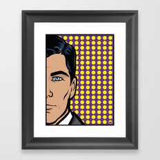 Sterling Archer of ISIS... Framed Art Print