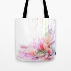 garden summer flowers  Tote Bag