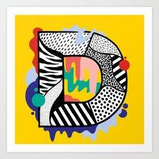 D for …. Art Print