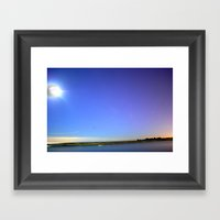 LAST NIGHT Framed Art Print