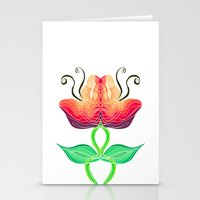 Warm In The Middle Stationery Cards
