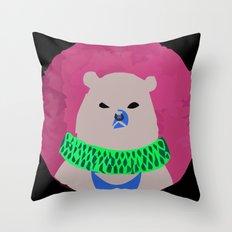 CIRCUS BEAR Throw Pillow
