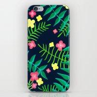 Natures Confetti Leaves  iPhone & iPod Skin