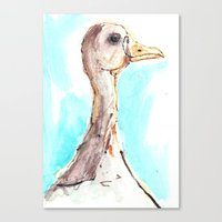 Bird Study Number Two Canvas Print