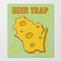 Beer Trap Canvas Print