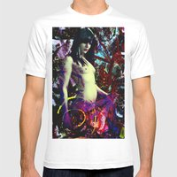 Nude Mens Fitted Tee White SMALL