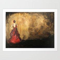 Spanish Dancer Art Print